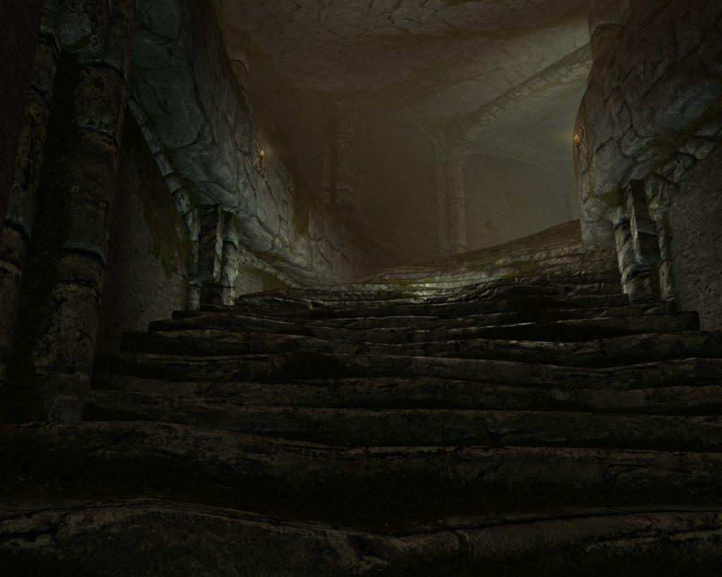 Лестница в имперском форте