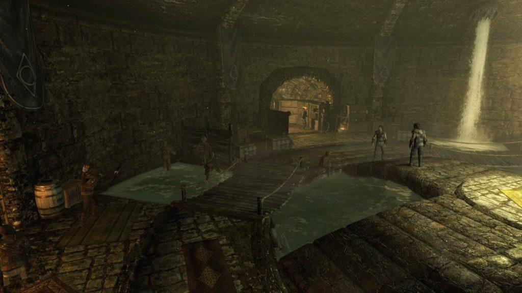 Цистерна – внутренний зал Гильдии Воров