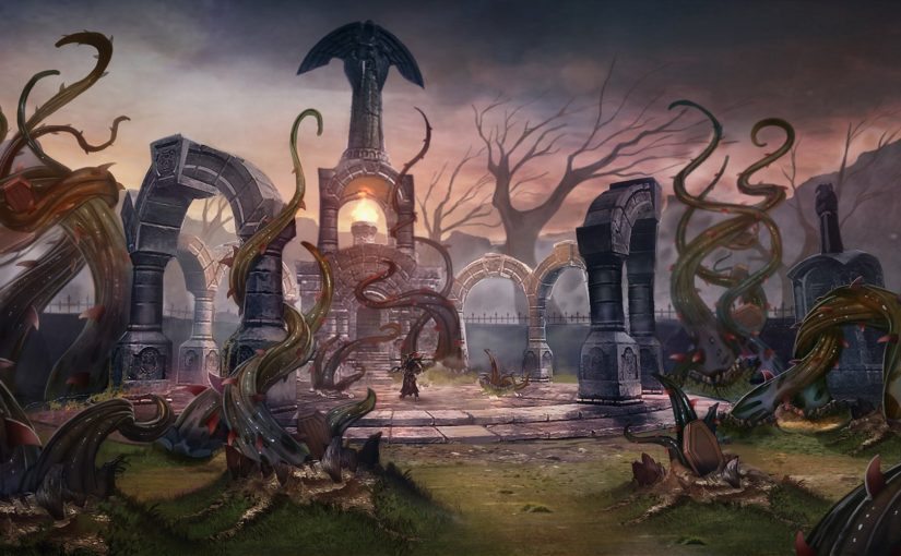 Bloodthorn Cult TESO concept art